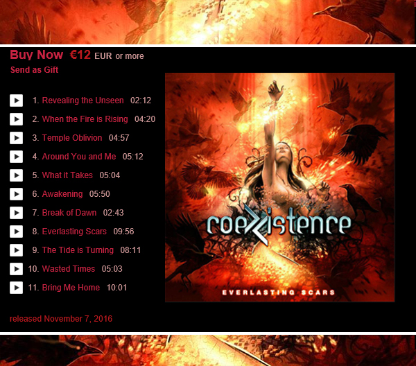 https://officialcoexistence.bandcamp.com/releases