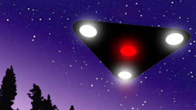 The triangle UFO has definitely been outed now.