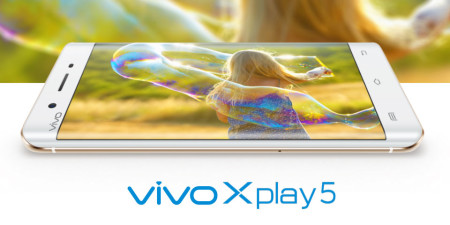 "Vivo Xplay5 Specifications - LAUNCH Announced 2016, March DISPLAY Type Super AMOLED capacitive touchscreen, 16M colors Size 5.43 inches (~69.5% screen-to-body ratio) Resolution 1440 x 2560 pixels (~541 ppi pixel density) Multitouch Yes BODY Dimensions 153.5 x 76.2 x 7.6 mm (6.04 x 3.00 x 0.30 in) Weight 167.8 g (5.93 oz) SIM Dual SIM (Nano-SIM, dual stand-by) PLATFORM OS Android OS, v5.1 (Lollipop) CPU Quad-core 1.8 GHz Cortex-A72 & quad-core 1.4 GHz Cortex-A53 Chipset Qualcomm MSM8976 Snapdragon 652 GPU Adreno 510 MEMORY Card slot No Internal 128 GB, 4 GB RAM CAMERA Primary Primary 16 MP, f/2.0, phase detection autofocus, dual-LED (dual tone) flash Secondary 8 MP, f/2.4 Features 1/2.8"" sensor size, 1.12 µm pixel size, geo-tagging, touch focus, face detection, panorama, HDR Video 2160p@30fps, 1080p@30fps NETWORK Technology GSM / CDMA / HSPA / EVDO / LTE 2G bands GSM 900 / 1800 - SIM 1 & SIM 2  CDMA 800 3G bands HSDPA 850 / 900 / 1900 / 2100  CDMA2000 1xEV-DO  TD-SCDMA 4G bands LTE band 1(2100), 2(1900), 3(1800), 4(1700/2100), 5(850), 7(2600), 8(900), 38(2600), 39(1900), 40(2300), 41(2500) Speed HSPA 42.2/5.76 Mbps, LTE Cat6 300/50 Mbps GPRS Yes EDGE Yes COMMS WLAN Wi-Fi 802.11 a/b/g/n/ac, dual-band, WiFi Direct, hotspot NFC Yes GPS Yes, with A-GPS USB microUSB v2.0, USB On-The-Go Radio FM radio Bluetooth v4.0, A2DP, LE FEATURES Sensors Sensors Fingerprint, accelerometer, gyro, proximity, compass Messaging SMS (threaded view), MMS, Email, Push Email Browser HTML5 Java No SOUND Alert types Vibration; MP3, WAV ringtones Loudspeaker Yes 3.5mm jack Yes  - Hi-Fi 3.0 BATTERY  Non-removable Li-Ion 3600 mAh battery Stand-by  Talk time  Music play  MISC Colors Silver, Gold, Rose Gold  - Funtouch OS 2.5.1 - Active noise cancellation with dedicated mic - MP4/H.264 player - MP3/WAV/eAAC+/FLAC player - Document viewer - Photo/video editor"