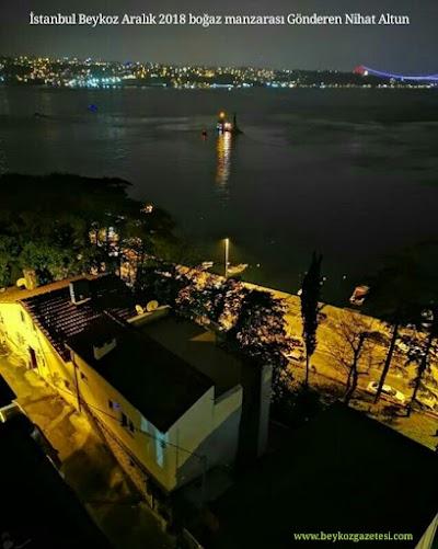 İstanbul Beykoz Aralık 2018 boğaz manzarası Gönderen Nihat Altun