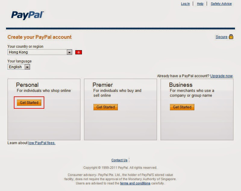 Make Money Online: How To Register a Paypal Account