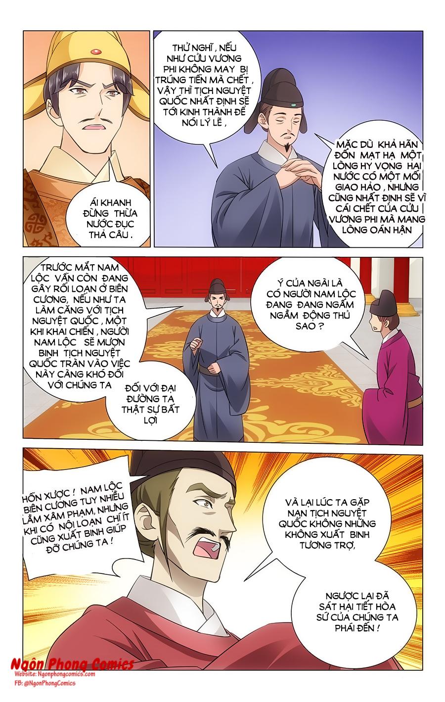 Vương Gia Không Nên A Chap 62 - Trang 10