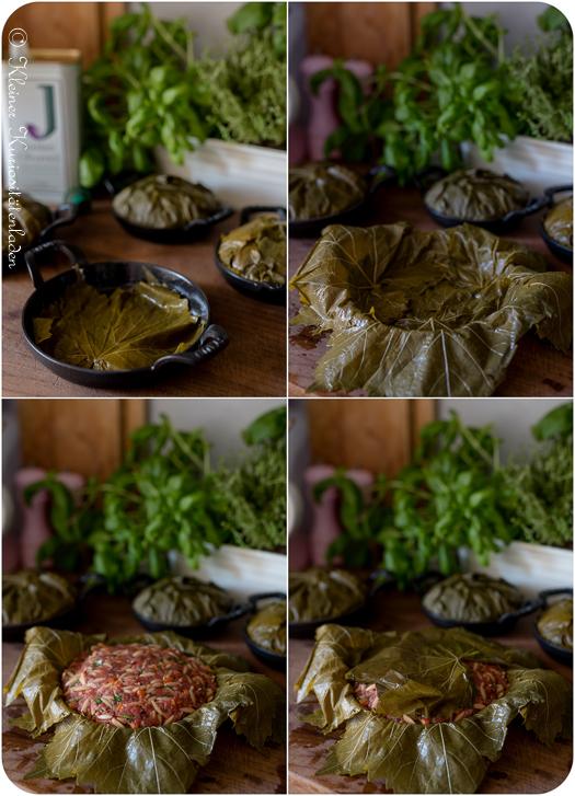 MakingOf Ofendolma mit Joghurt-Fetasauce