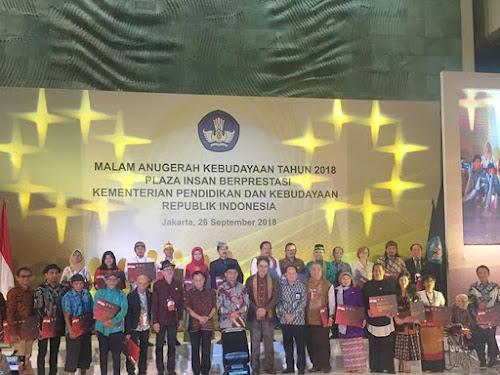 Anugerah Kebudayaan 2018