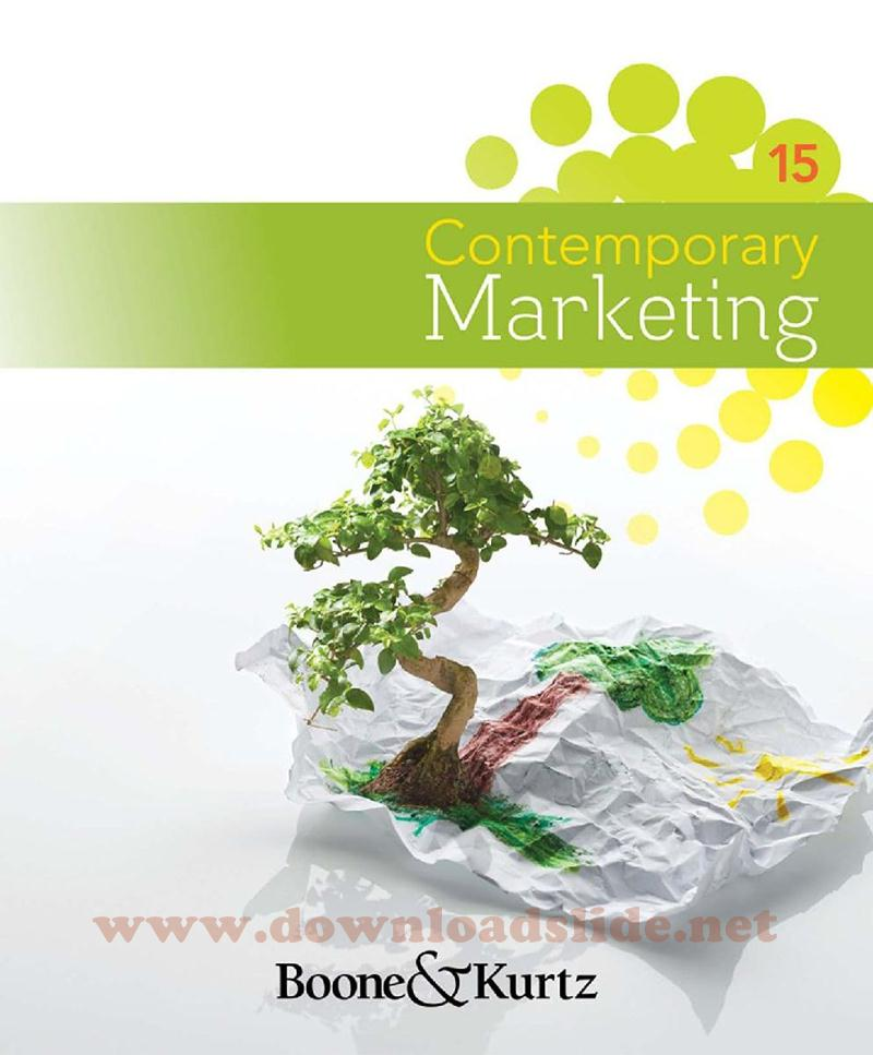 Downloadslide download slides ebooks solution manual and download ebook contemporary marketing 15th edition by boone kurtz fandeluxe Choice Image