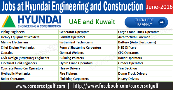Hyundai Engineering And Construction Careers At Gulf
