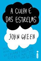 Capa do livro A Culpa é das Estrelas