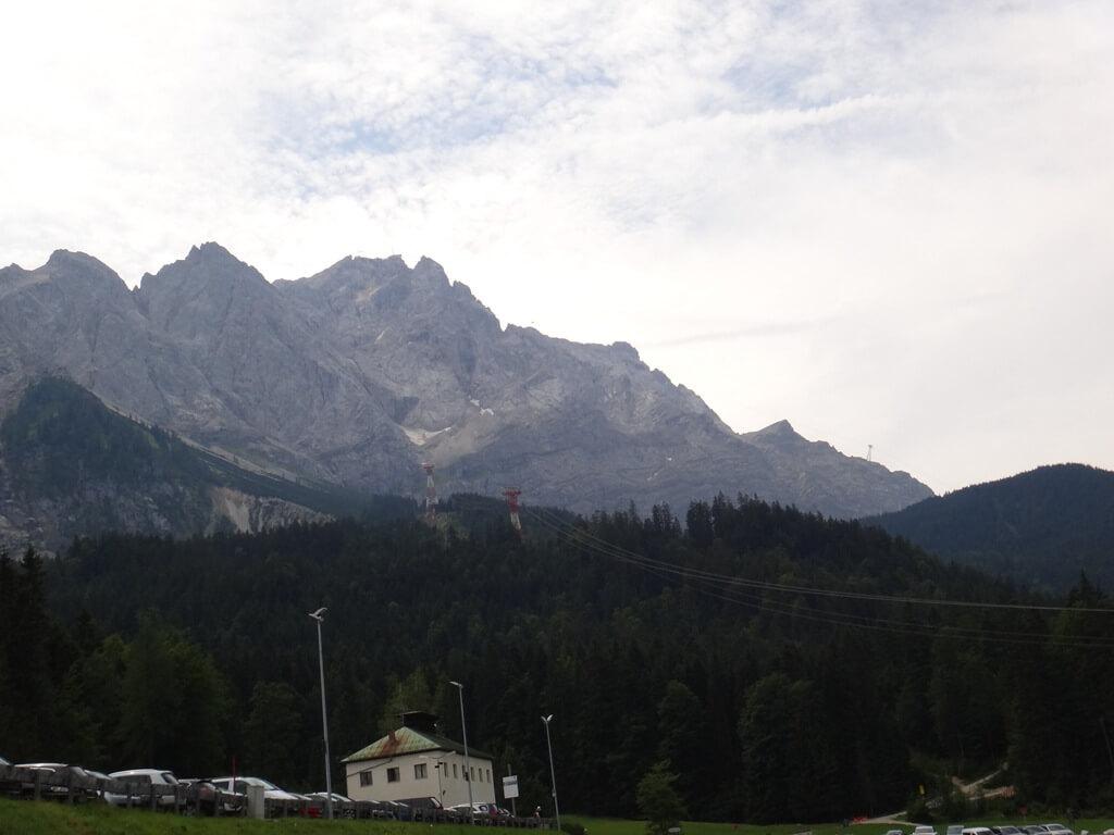 Teleférico para o Zugspitze