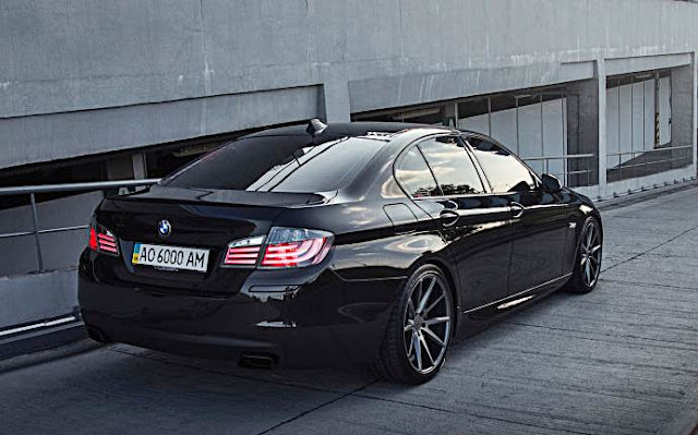 bmw 5 series m sport with vossen wheels auto bmw review. Black Bedroom Furniture Sets. Home Design Ideas