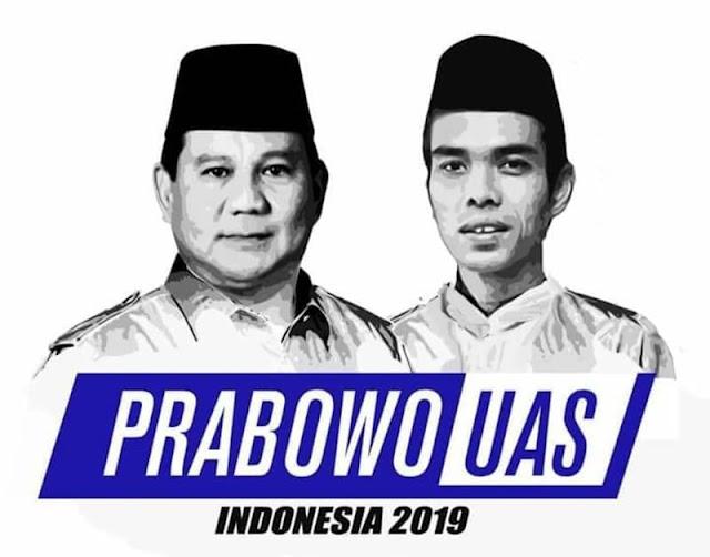 Menuju Prabowo-UAS 2019: Antara UAS, HRS, dan Telepon dari Ust. Salim Segaf