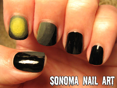 Sonoma Nail Art 31 Day Nail Art Challenge Gradient Nails