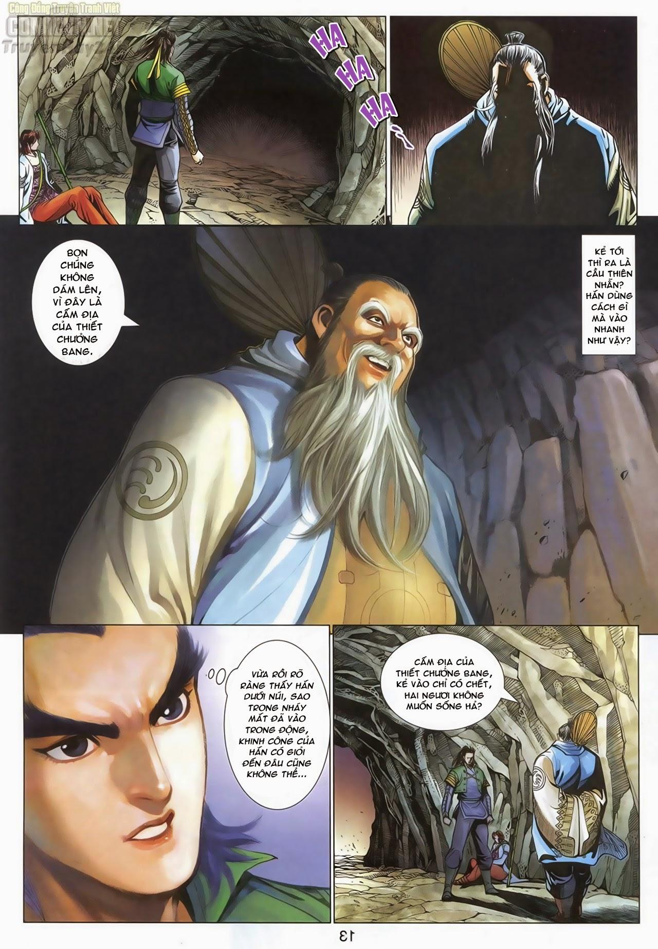 Anh Hùng Xạ Điêu anh hùng xạ đêu chap 69: hồn đoạn thiết chưởng phong trang 14