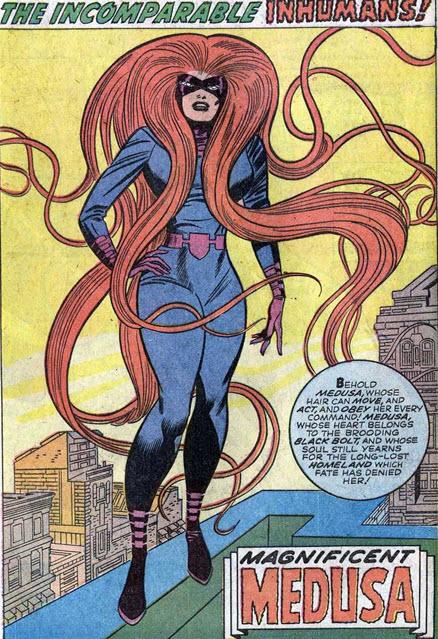 Medusa Fantastic Four Annual Inhumans