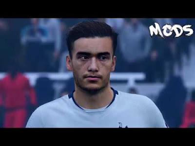FIFA 19 Faces Harry Winks by CrazyRabbit