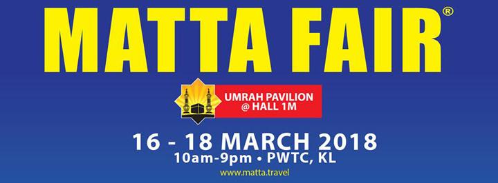 Promosi menarik pakej pelancongan Matta Fair 2018