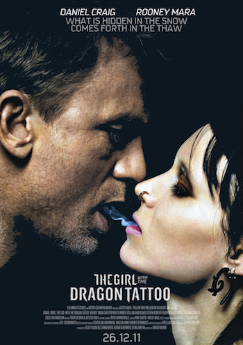 The Girl With The Dragon Tattoo 2011 BRRip 480p Dual Audio Hindi 500MB