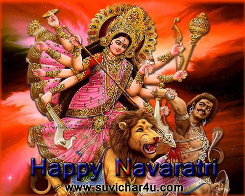 Happy Navaratri 2015 - In dino durga mata ke navo roop ki vandana ki jati hai aur puja ki jati hai. Prem se blolo jai mata di
