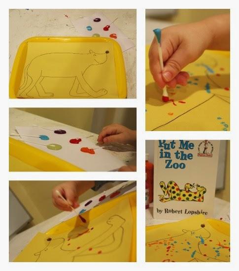 Dr. Seuss Toddler Craft