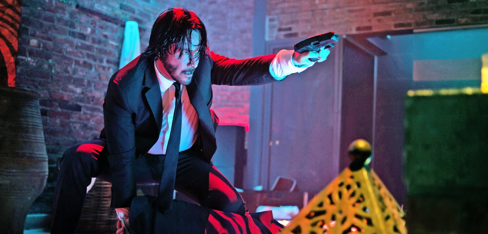 Fight Work: The Red Circle Shootout from John Wick | Scott's Self