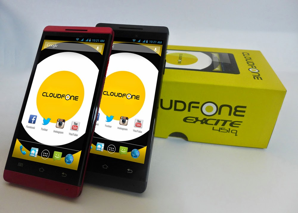 CloudFone Excite 451q: Specs, Price and Availability
