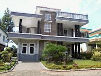 Sewa villa di puncak kota bunga, villa seruni minimalis 5