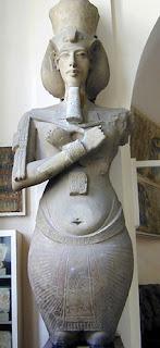 Statue Akhenaton - Musée du Caire