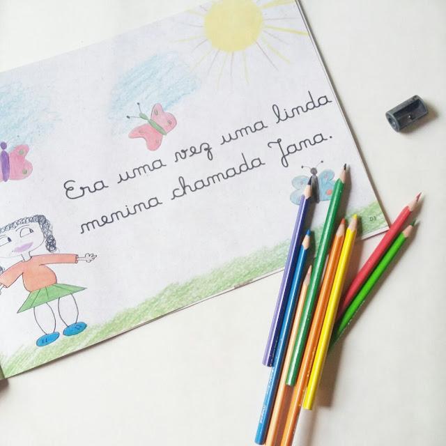 o maravilhoso livro de desenhos da menina que não sabia desenhar