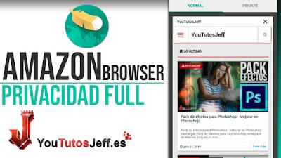 Descargar Navegador de Amazon para Android - Ligero y Gran Nivel de Privacidad