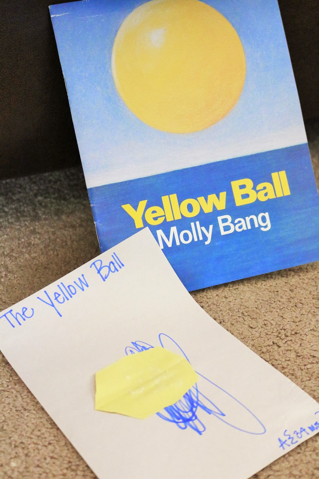 letter y toddler activities | Yellow Ball Art