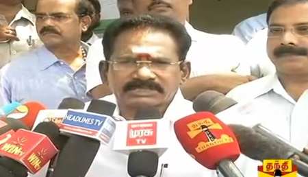 Minister Sellur K. Raju's Press Meet on PDS and Smart Cards