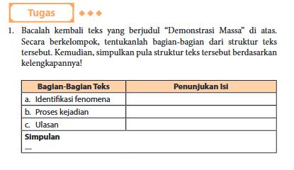 Kunci Jawaban Bahasa Indonesia Kelas 11 Revisi 2017 Halaman 108 Guru Galeri