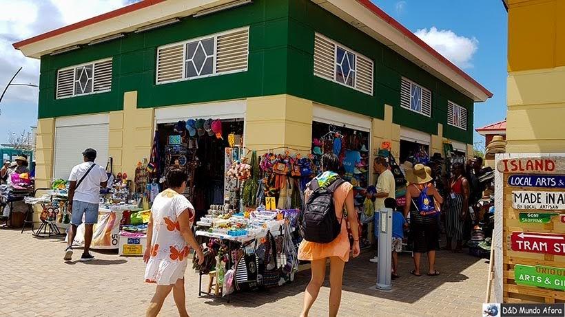 Lojas na capital Oranjestad - Guia completo: o que fazer em Aruba