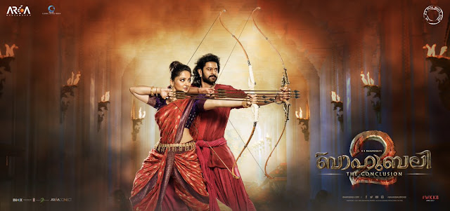 Baahubali 2 Malayalam Posters, prabhas and anushka