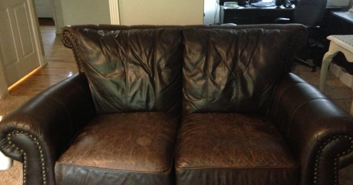 Using Shoe Polish On A Leather Sofa