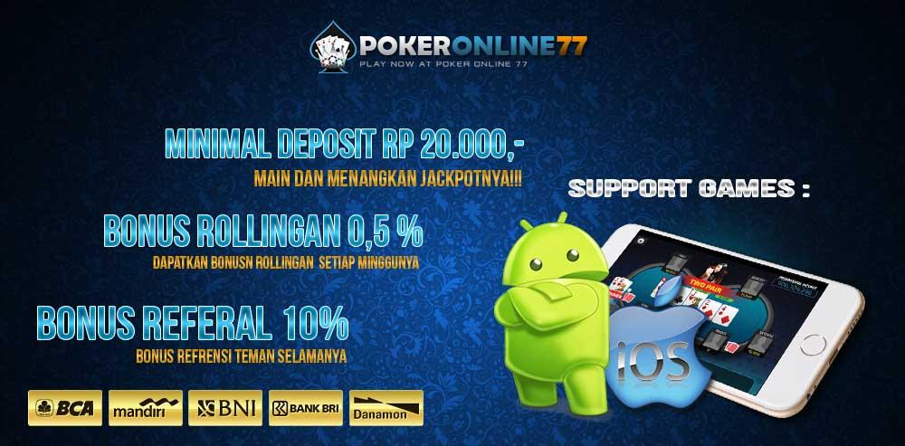 PokerOnline77 Situs Resmi Judi Poker Online