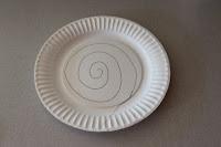 paper plate snake