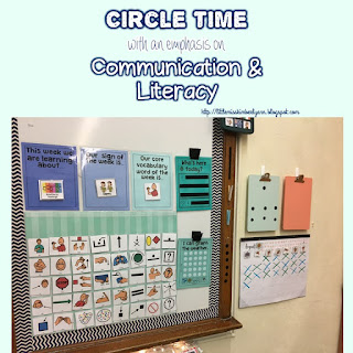 Circle Time in Special Education: Focusing on Communication & Literacy