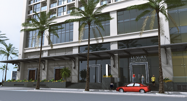 Sảnh vào của Luxury Apartment Đà Nẵng