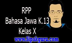RPP Bahasa Jawa Kurikulum 2013, Kelas X Materi Rumah Adat