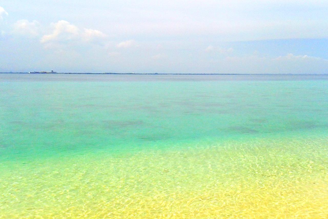 cara indah menikamti pulau samalona pasir putih dan indah