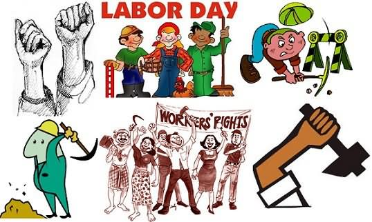 labour day cliparts 2017