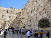 "The famous Western or ""Wailing Wall,"" last remnants of the 2nd Jewish Temple in Jerusalem"