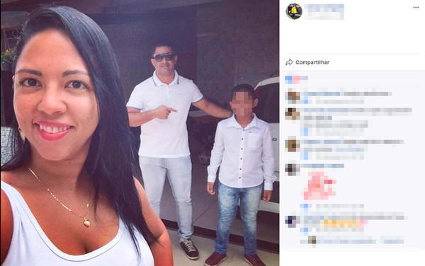 Homem mata ex-mulher a tiros na frente do filho do casal e comete suicídio