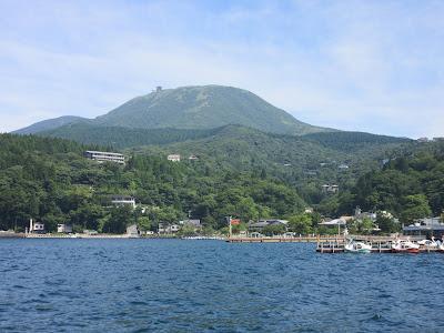 Lago Ashi, en Hakone, Japón