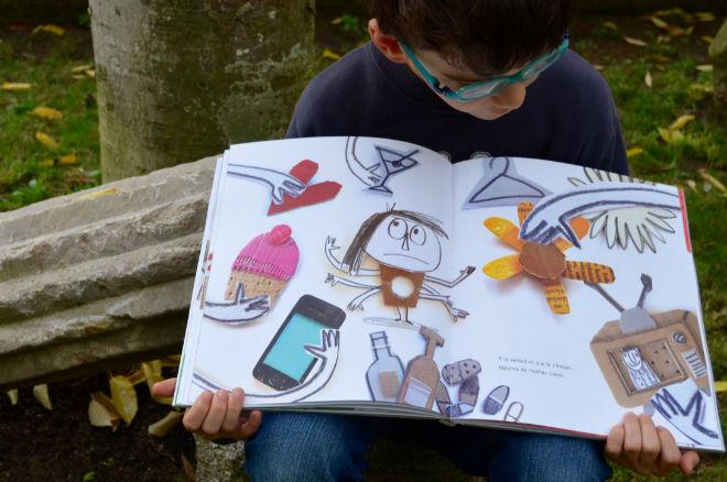 libro infantil Vacío de Anna Llenas, cuento, educación emocional