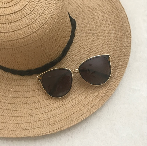 Thrifty Wife, Happy Life- Cat eye sunglasses from glassesshop.com