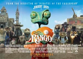 Faded Glamour Film Review Rango 2011