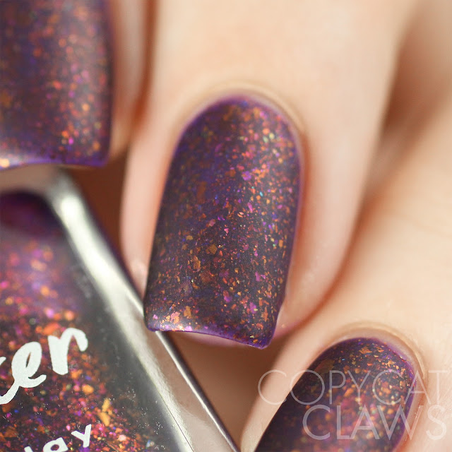 Lacquester Dragon Heart Swatch Matte