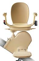 Krzesełko schodowe na schody proste, model Acorn Brooks