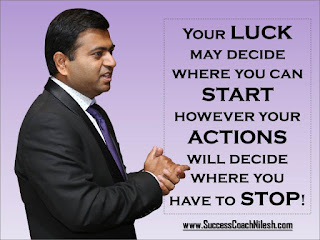 Success Coach Nilesh Quotes